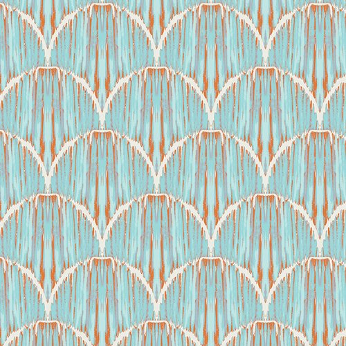 Courbe Ikat Sky from Indigo & Aster - AGF