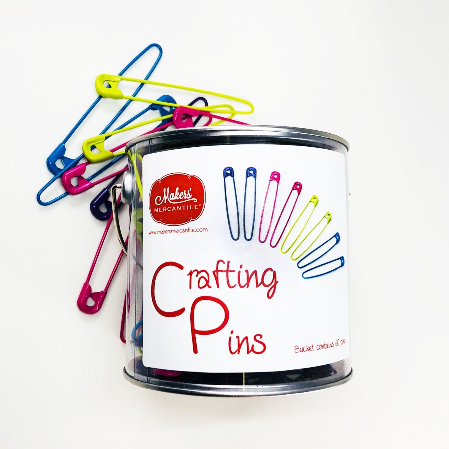Crafting Pins Value Pack for Sharing - 60 pack