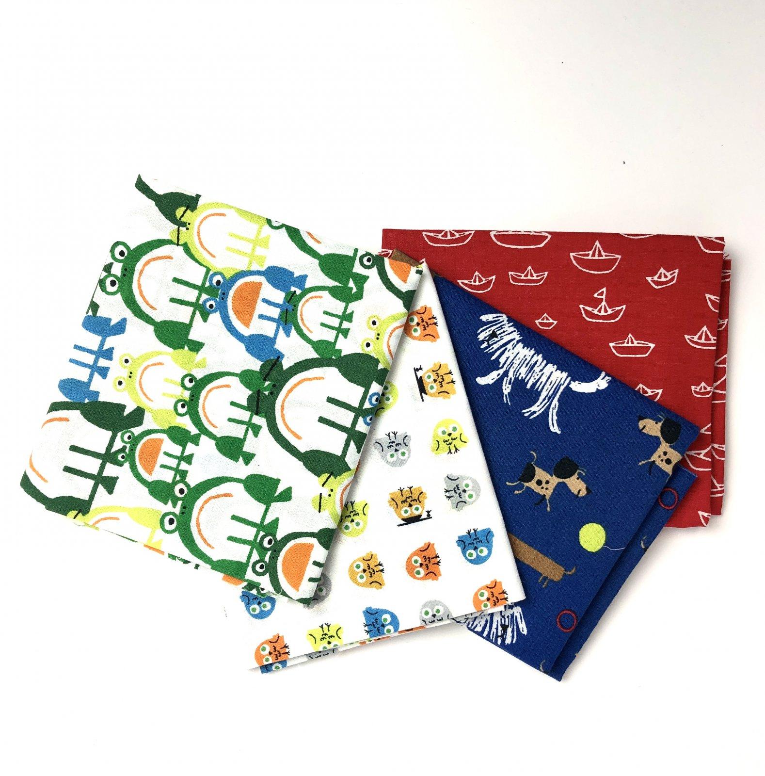 Fat Quarter Pack - Children's Theme