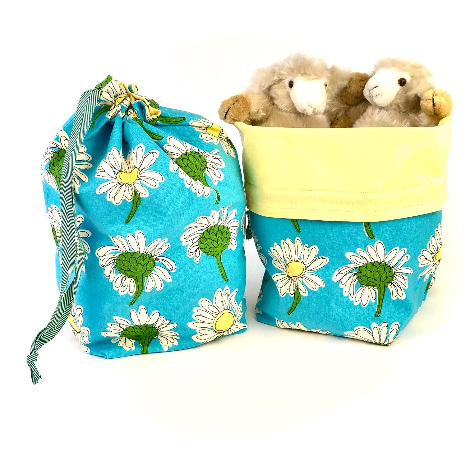 Delightful Daisies - Makers' Exclusive Project Bag