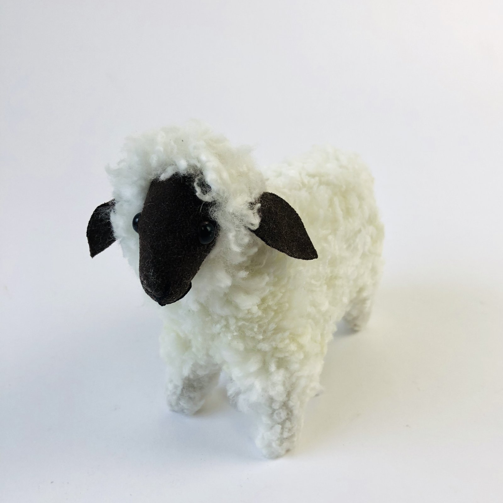 Heritage Sheep - alpaca fiber sculpture