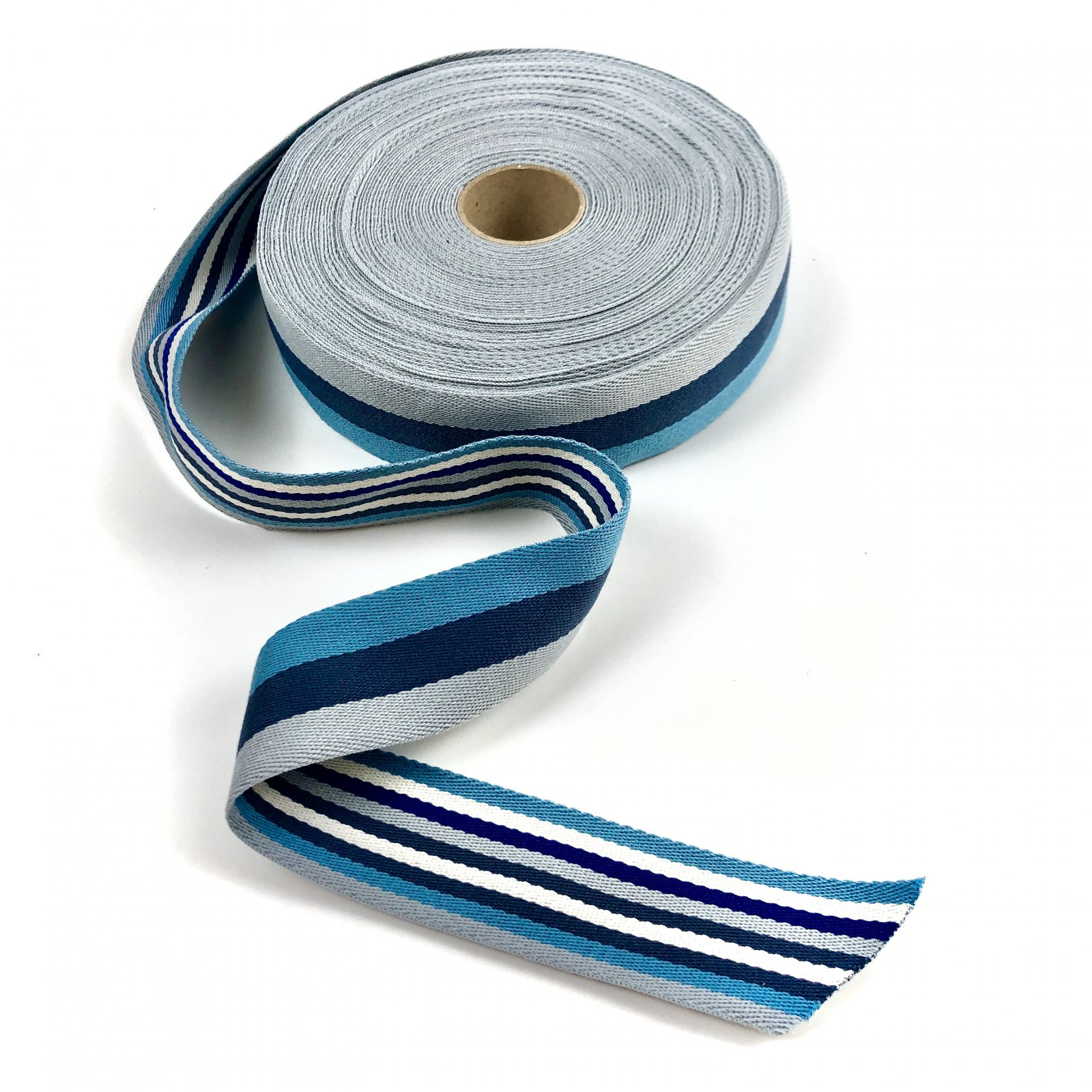 Striped Strapping - Blues
