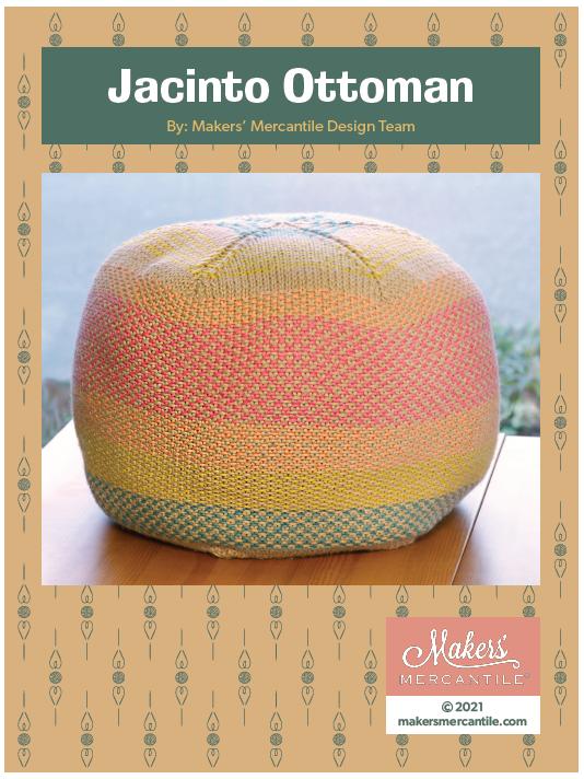 Jacinto Ottoman - free .pdf pattern download