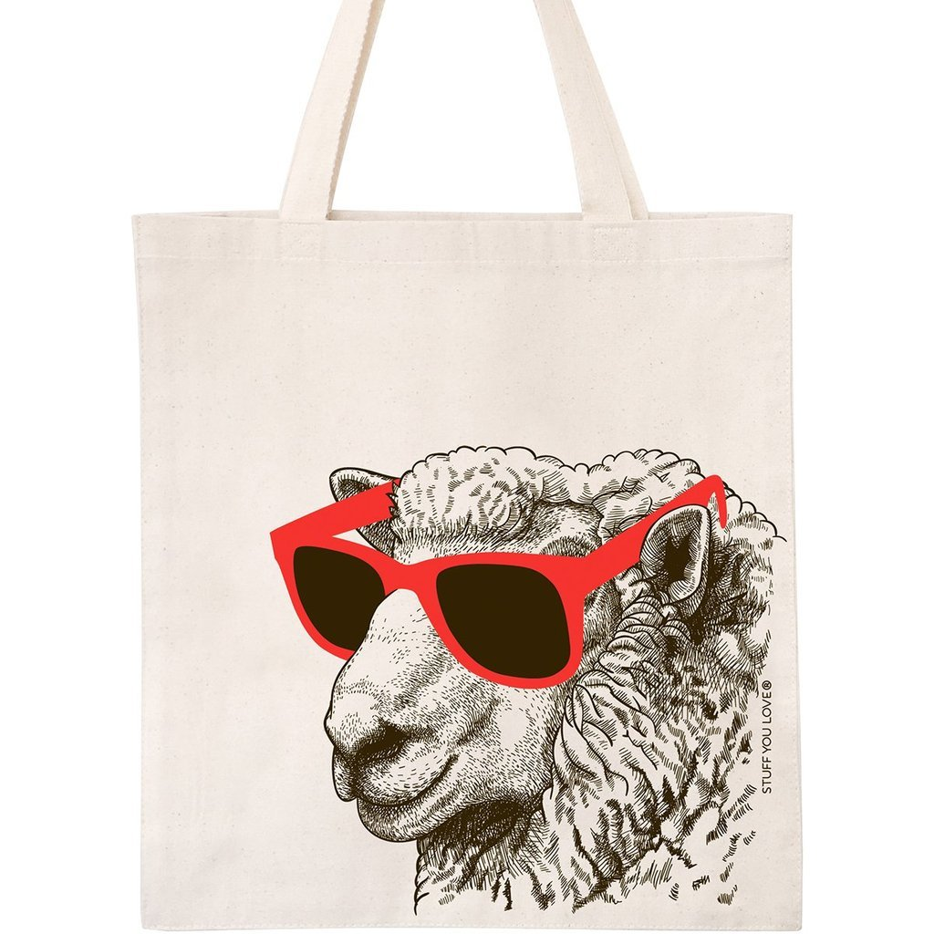 Cool Sheep Tote Bag