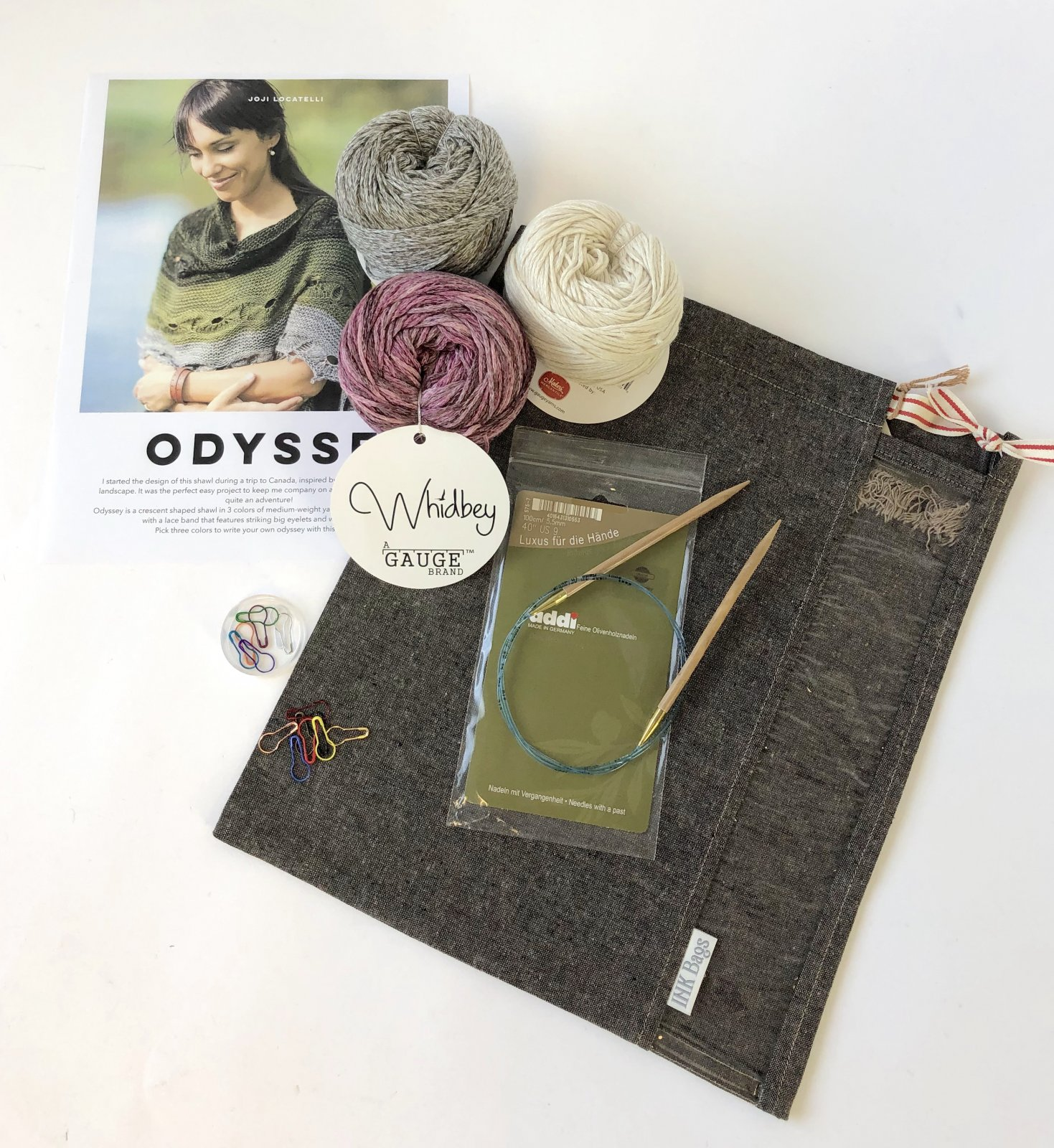 Odyssey Shawl Kit