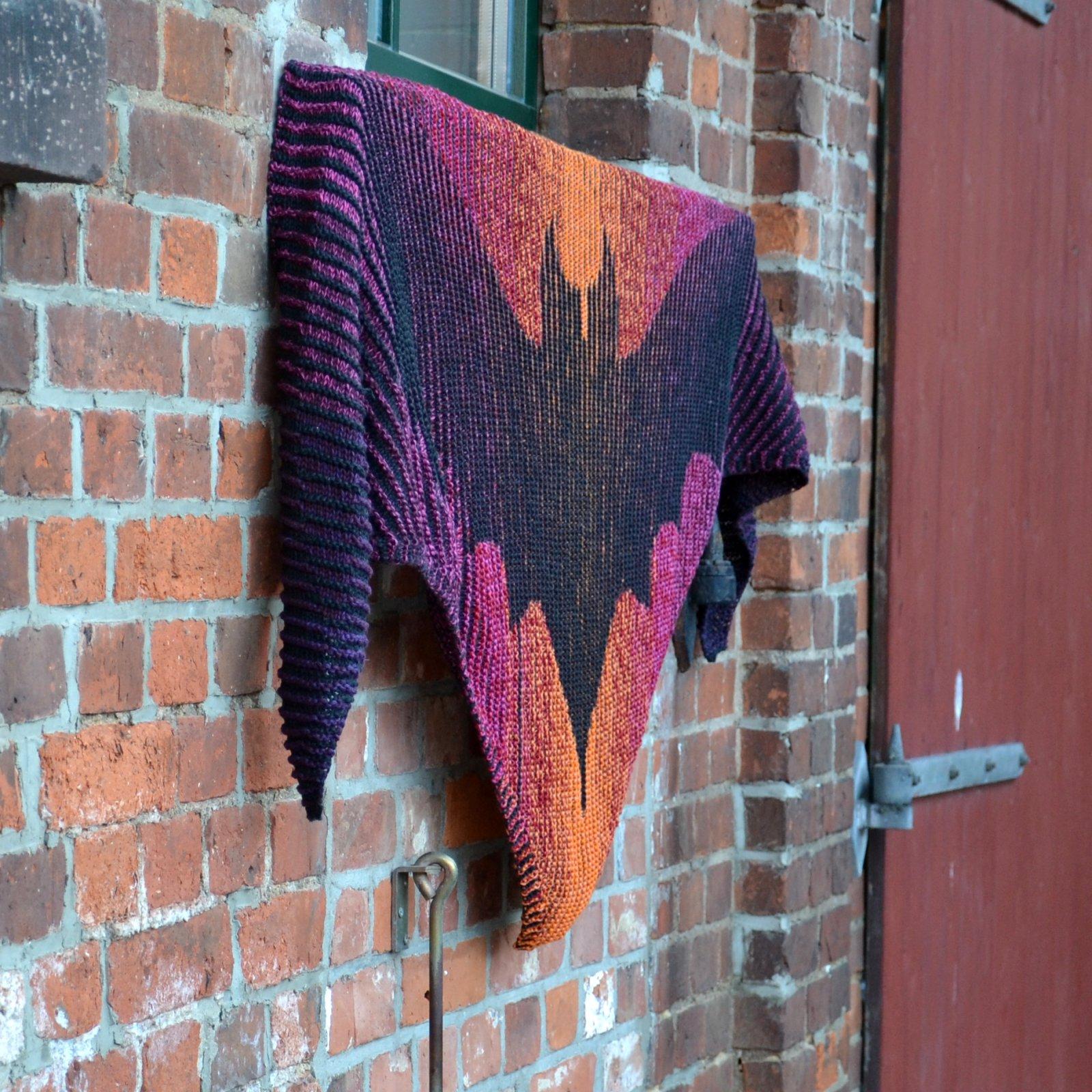 Bat Shadow Knitting Kit