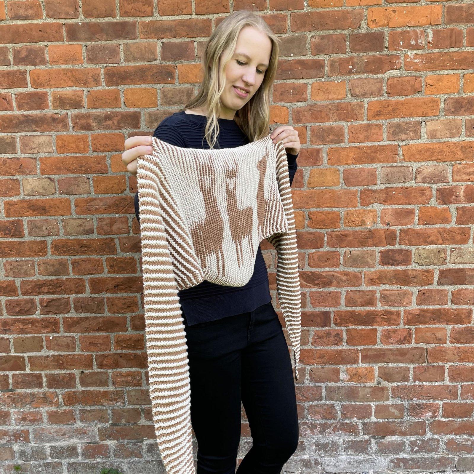 Sweet Alpaca Shadow Knitting Kit
