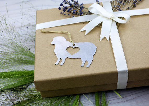 Love Sheep Ornament
