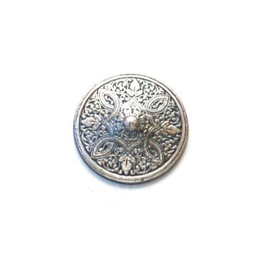 Madonna Convex Metal Button