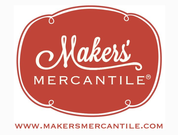 Makers' Mercantile Sticker