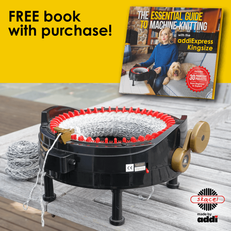 addiExpress KINGSIZE Knitting Machine  + Bonus Book