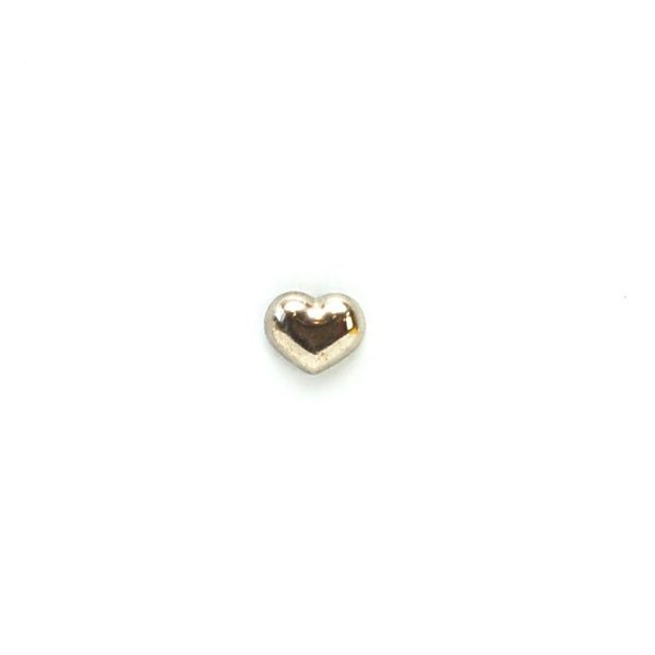 Heart Metal Button