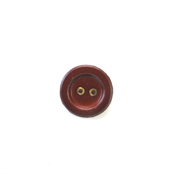 Metal Holed Leather Buttons
