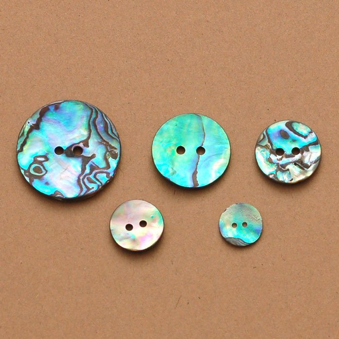 Mexican Abalone Shell Button