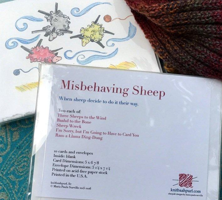 Misbehaving Sheep Gift Card Set