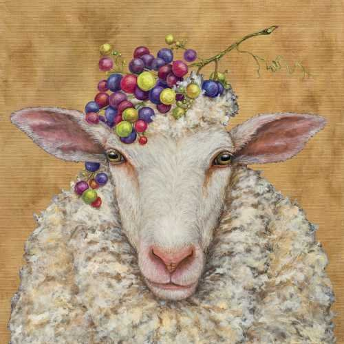 Napkins - Vineyard Sheep - PPD