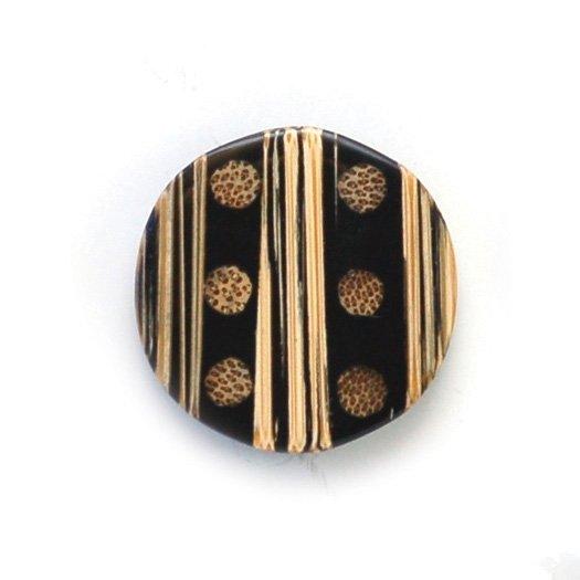 Natural Bamboo Wood Button