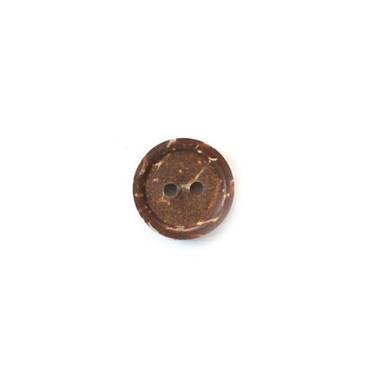 Natural Brown Coconut Buttons