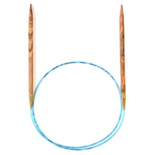addi Olive Wood Circular Knitting Needles