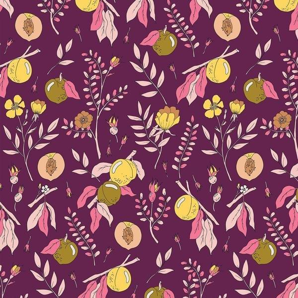 Peaches & Pears on Wine - Paintbrush Studios