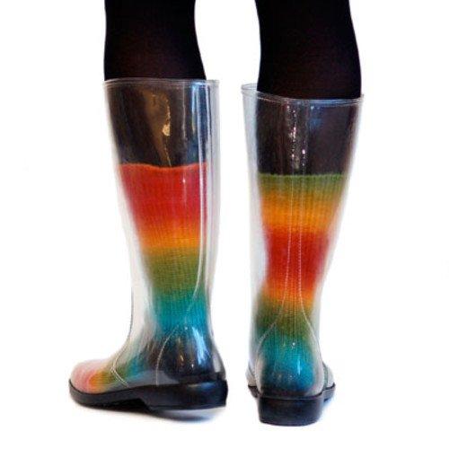 Peek-a-Boots rainboots Size US 7