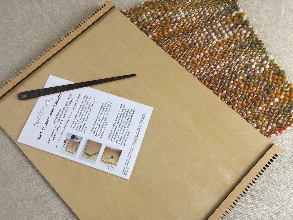 Purl & Loop Custom Makers' Birch Loom - Placemat