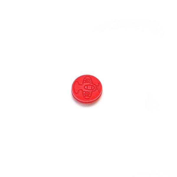 Airplane Plastic Button