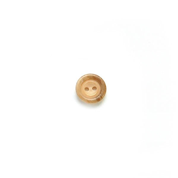 Brushed Rim Plastic Buttons