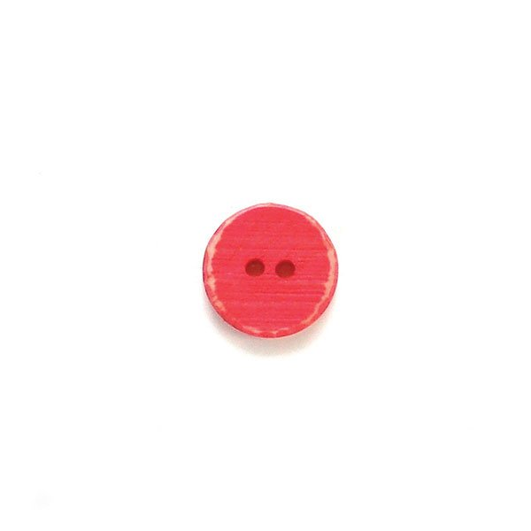 Faux Wood Grain Plastic Button