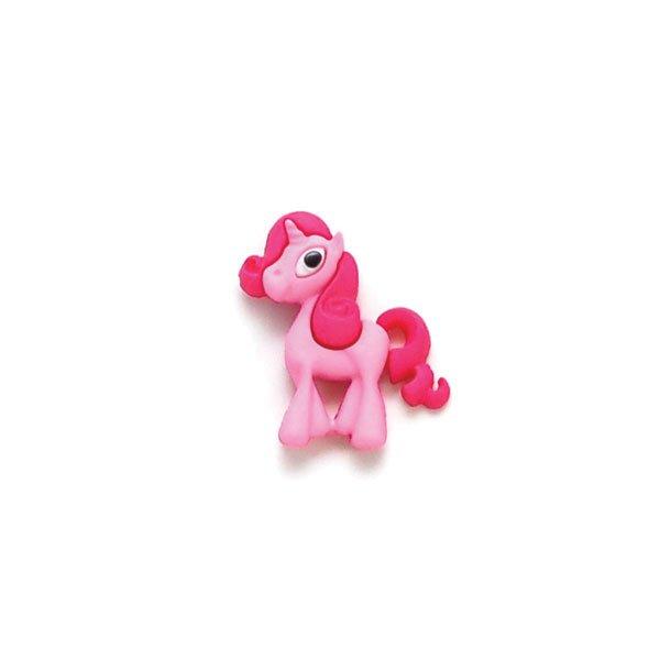 Little Unicorn Pony Plastic Buttons