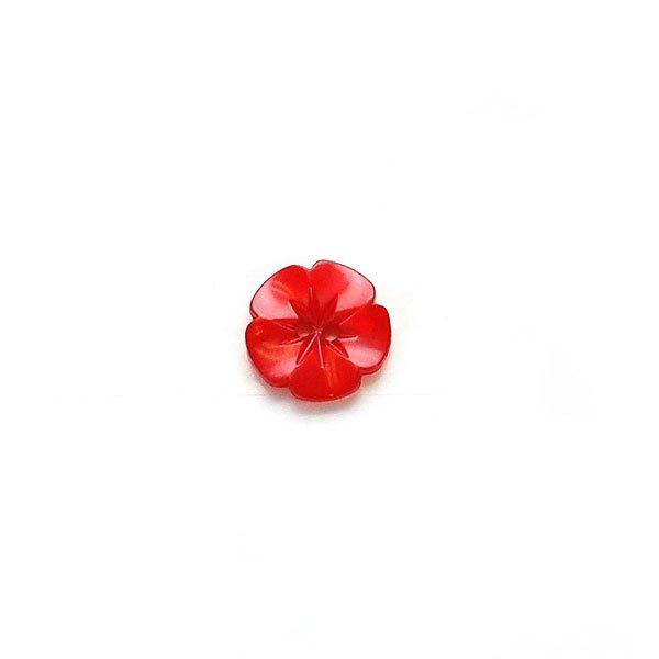 Iridescent Flower Plastic Buttons