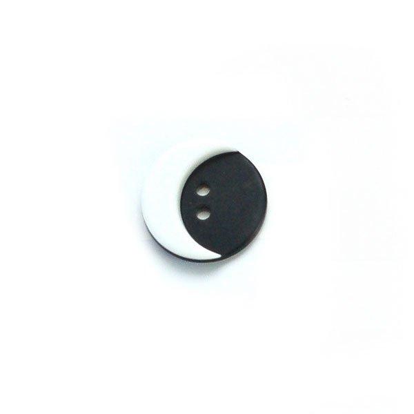 Moon Plastic Buttons