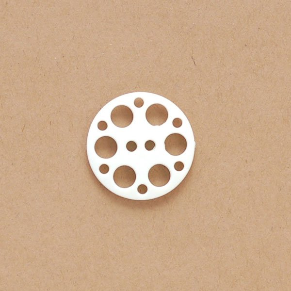 Multiple Holes Plastic Button