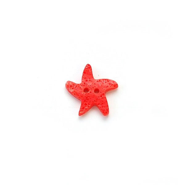Textured Sea Life Plastic Button