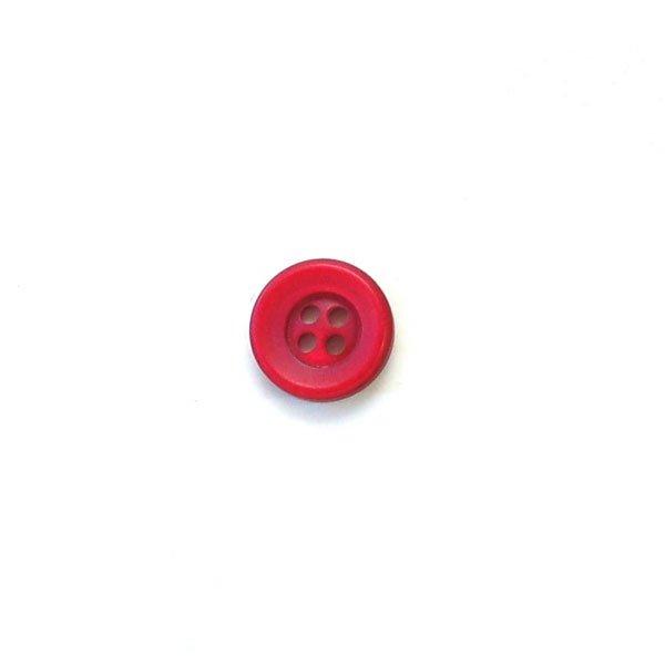 Wide Rim Plastic Buttons