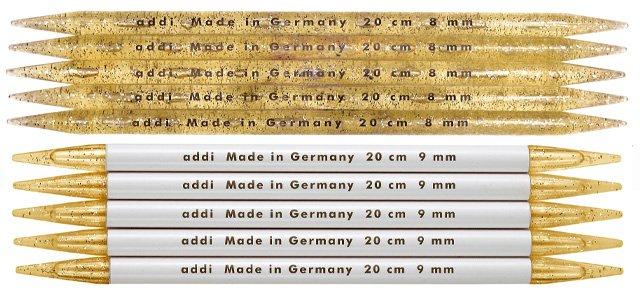 addi Plastic Double Point Knitting Needles 8 US 11-15