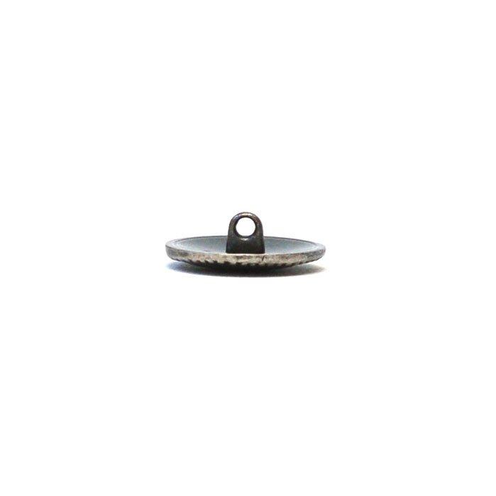 Pressed Flower Metal Button