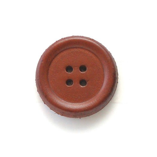 Raised Rim Leather Buttons