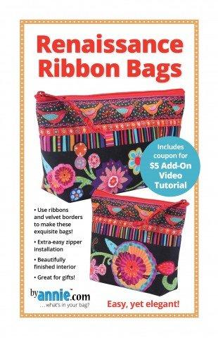 byAnnie Renaissance Ribbon Bags Pattern