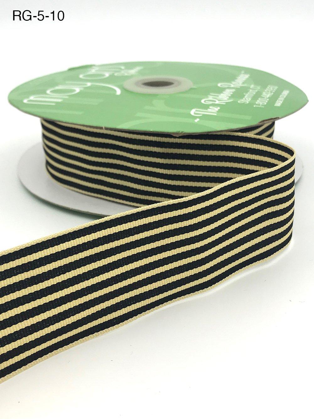 Gros Grain Stripes Ribbon 1.5 inch