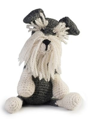 Romeo the Schnauzer Crochet Kit - Toft UK