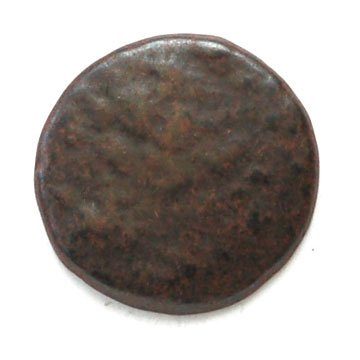 Rusted Metal Button