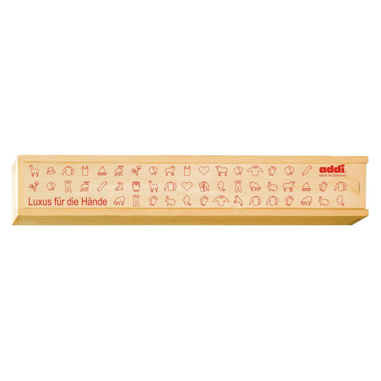 addi Wooden Straight Needle Storage Box