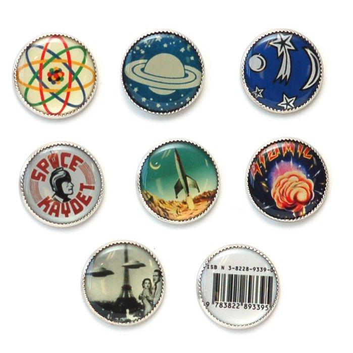Science Picture Button Set