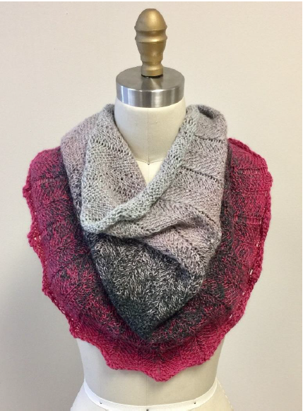 Concentric Chevron Cowl Pattern