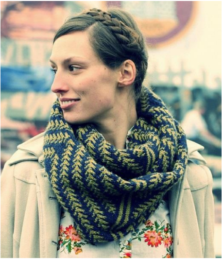 Pine Bough Cowl Pattern