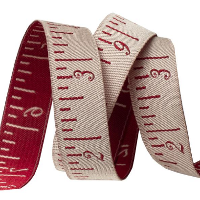 Renaissance Ribbons French General Tape Measure