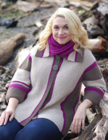 Kenzie Reflections Cardigan - Free Pattern Download