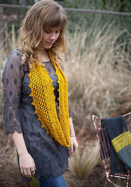Desert Marigold Crochet Pattern by Hill Country Weavers
