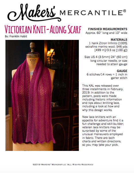 Victorian Knit-Along pattern PDF - Free Download